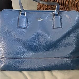 Kate Spade Navy Blue Large Handbag